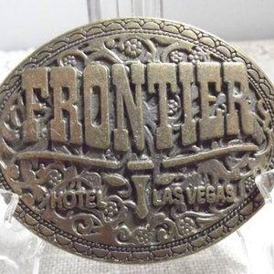 Other - Vintage Frontier Hotel Las Vegas Belt Buckle